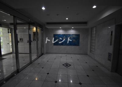 【エントランス】ガーラ芝御成門
