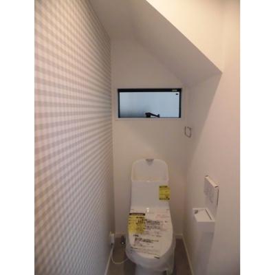 【トイレ】左京区下鴨蓼倉町 新築戸建て