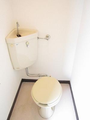 【トイレ】ガーネットハイツ