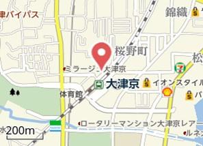 【地図】西大津ISⅡ