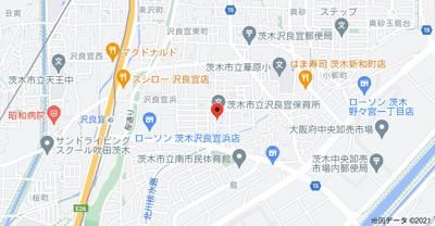 【地図】村井マンション