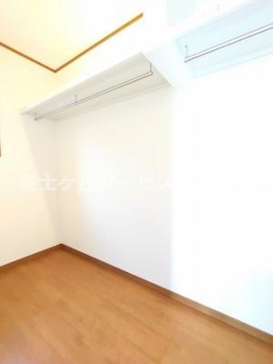 1階洋室の収納です