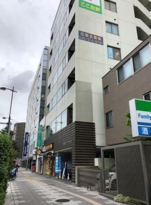 【外観】京急鶴見駅徒歩5分 貸事務所