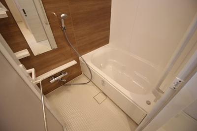 浴室 追焚付きです