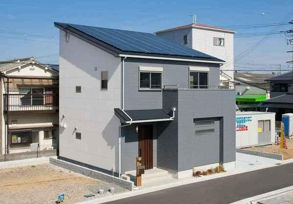 「外観写真」令和3年3月完成のお家です☆
