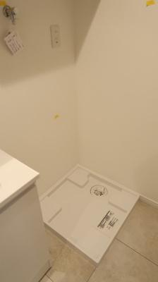 洗濯機置き場♪