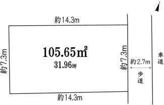 【土地図】横浜市鶴見区下末吉1丁目 売地