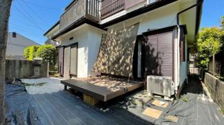 みつわ台 中古一戸建て みつわ台駅 外壁塗装リフォーム済み! ウッドデッキも新設しており、お庭も広いです!
