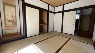 みつわ台 中古一戸建て みつわ台駅 1階の6帖和室です。 畳は大変綺麗にお使いのため、交換費用などの心配がございません!
