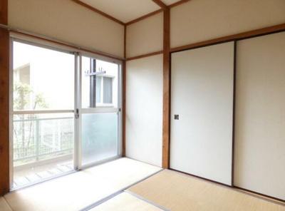 【寝室】富士見荘