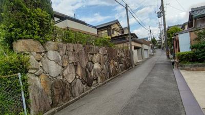 【前面道路含む現地写真】瀬戸市井戸金町中古戸建て