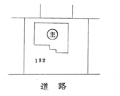 【区画図】瀬戸市井戸金町中古戸建て