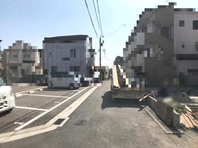 【前面道路含む現地写真】今津山中町 新築戸建