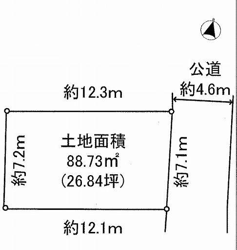【土地図】豊島区千川1丁目 新築戸建