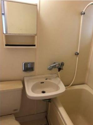 【浴室】ハーヴィーフラット