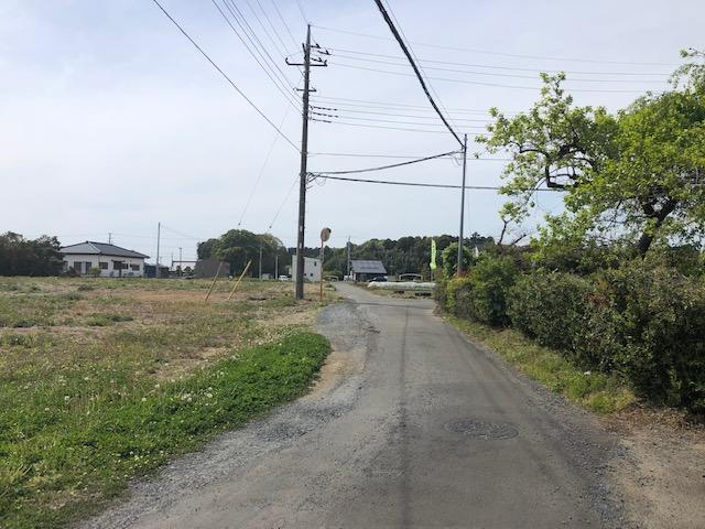【前面道路含む現地写真】河和田町土地