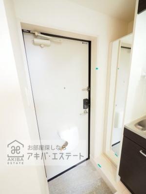 【玄関】ハーモニーテラス青井Ⅸ