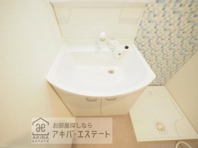 【独立洗面台】ハーモニーテラス青井Ⅸ