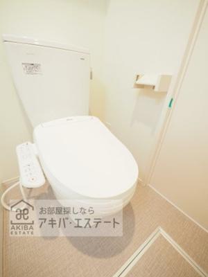 【トイレ】ハーモニーテラス青井Ⅸ