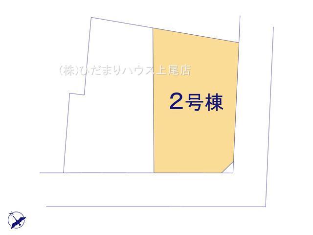 【区画図】西区飯田 新築一戸建て リーブルガーデン 02