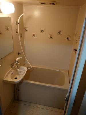 【浴室】シャトー・ド・メール須磨