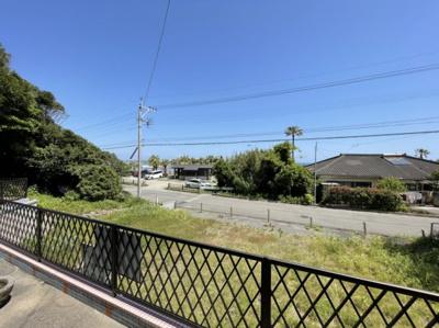 【展望】折生迫 お家から海が見える 中古住宅