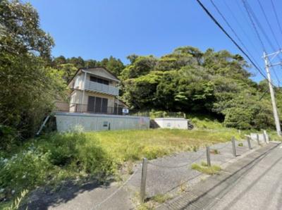 【外観】折生迫 お家から海が見える 中古住宅