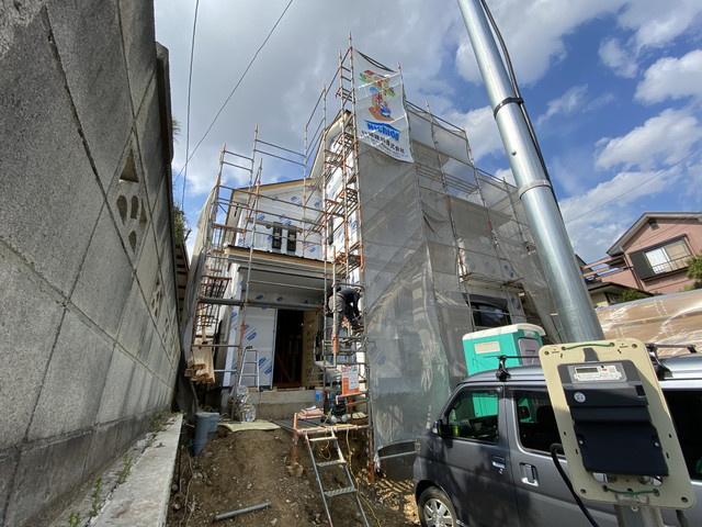 【外観】ニチドウ/船橋市西習志野1丁目 全1棟 新築一戸建て