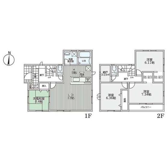 4980万円、4LDK+S、土地面積93.53㎡、建物面積102.66㎡