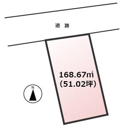 【土地図】早良区有田1丁目土地