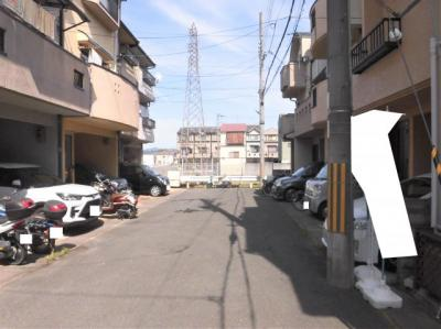 【前面道路含む現地写真】京都市伏見区久我石原町