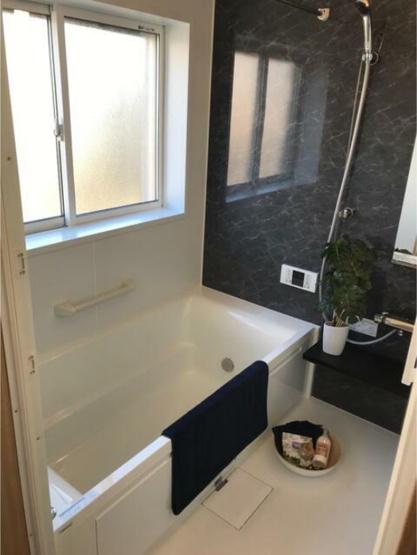 1坪タイプの浴室です。