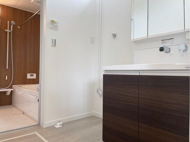 【独立洗面台】香芝市良福寺 新築(全3区画)モデルハウス A号地