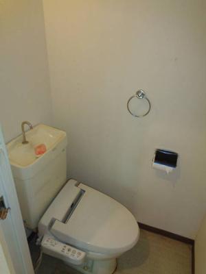 清潔感のあるトイレです!