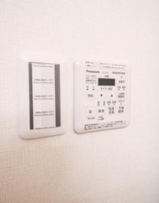 浴室乾燥暖房機には24時間換気システム機能も付いており、湿気対策にも。