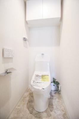 温水洗浄暖房便座付トイレ