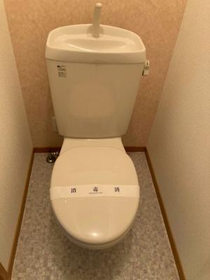 【トイレ】フラット桃ヶ池