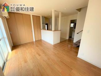 【居間・リビング】明石市大蔵谷奥 戸建住宅
