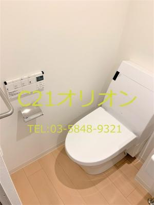【トイレ】プランドール豊玉中