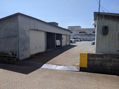 【外観】名神町3丁目86-1 ガレージ