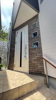 【玄関】花見川区花園町 中古一戸建て 新検見川駅