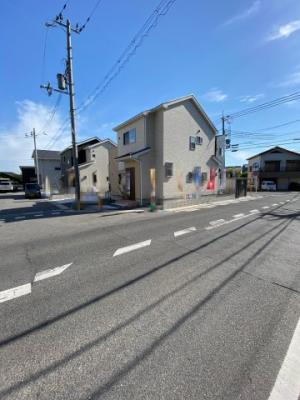 【前面道路含む現地写真】近江八幡市宮内町 新築戸建