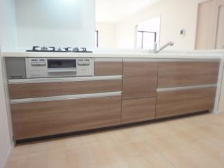 システムキッチン施工例です。
