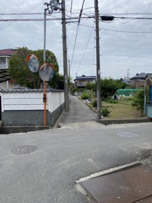 【前面道路含む現地写真】揖保郡太子町矢田部/売土地