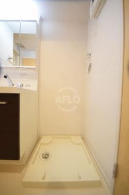 リッツグランテフユキ 室内洗濯機置き場