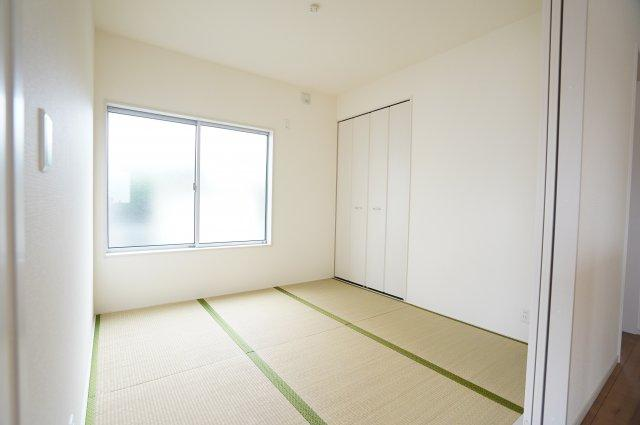 【同仕様施工例】和室はちょっとゴロゴロするのに心地よい空間です。。。