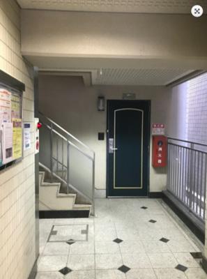 【エントランス】シャルマンフジ住吉弐番館