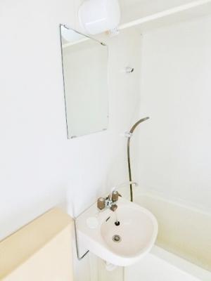 浴室洗面台です^^