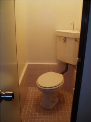【トイレ】コーポ富士