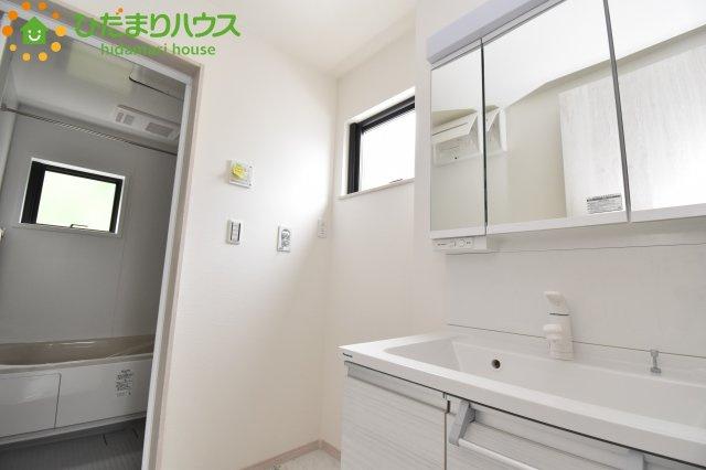 【洗面所】西区内野本郷 新築一戸建て 01